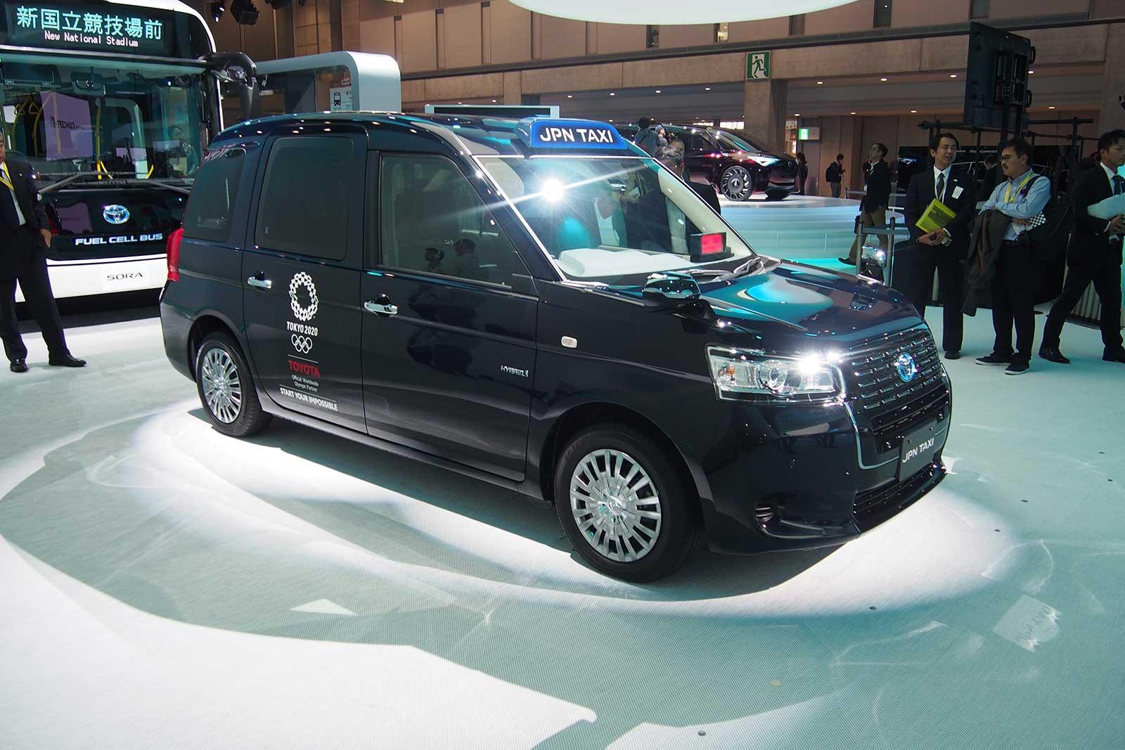 New Toyota Jpn Taxi Is Coming To The Streets Of Tokyo