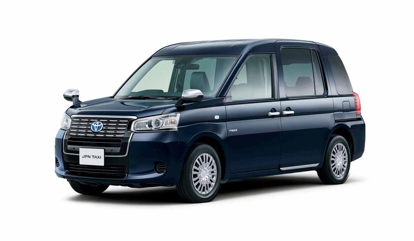 New Toyota JPN Taxi Ready To Shuttle Fares Under Hybrid LPG Power