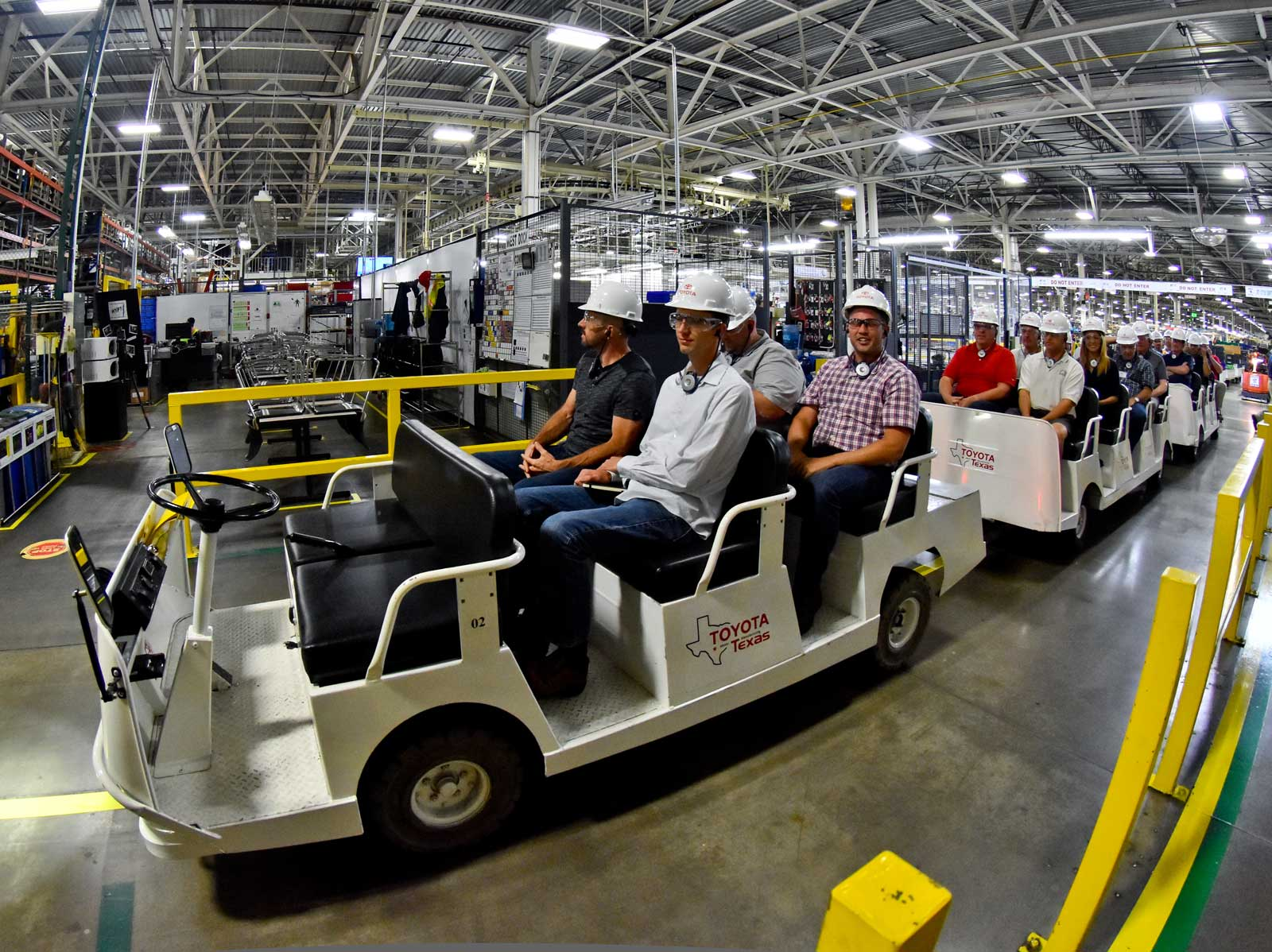 Appropriately Toyota S Texas Truck Plant Used To Be A