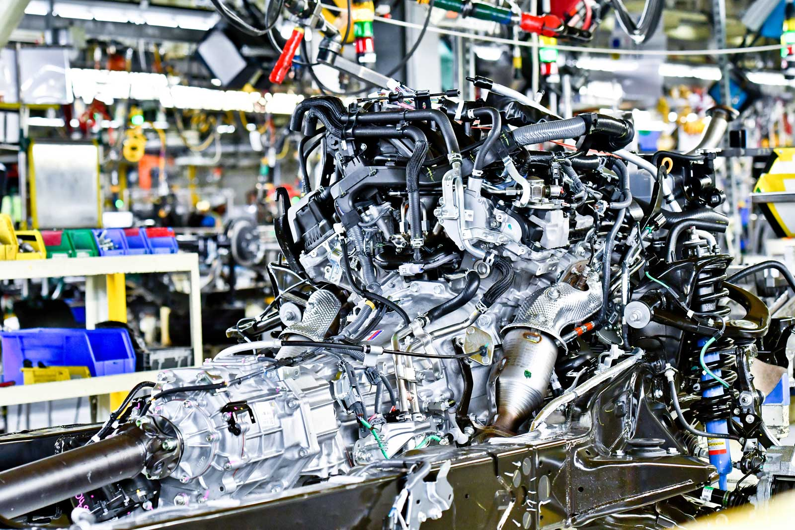 100 Toyota Manufacturing Toyota Suppliers Expanding