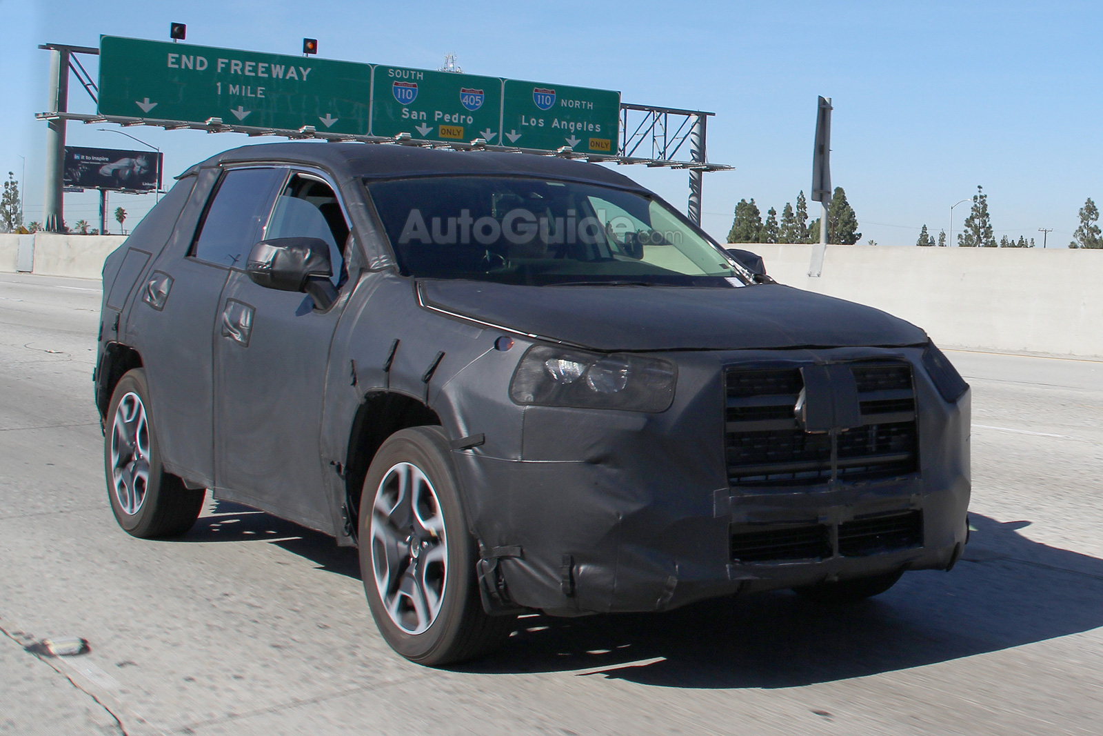 2019 Toyota Rav4 Breaks Cover Testing In Southern California