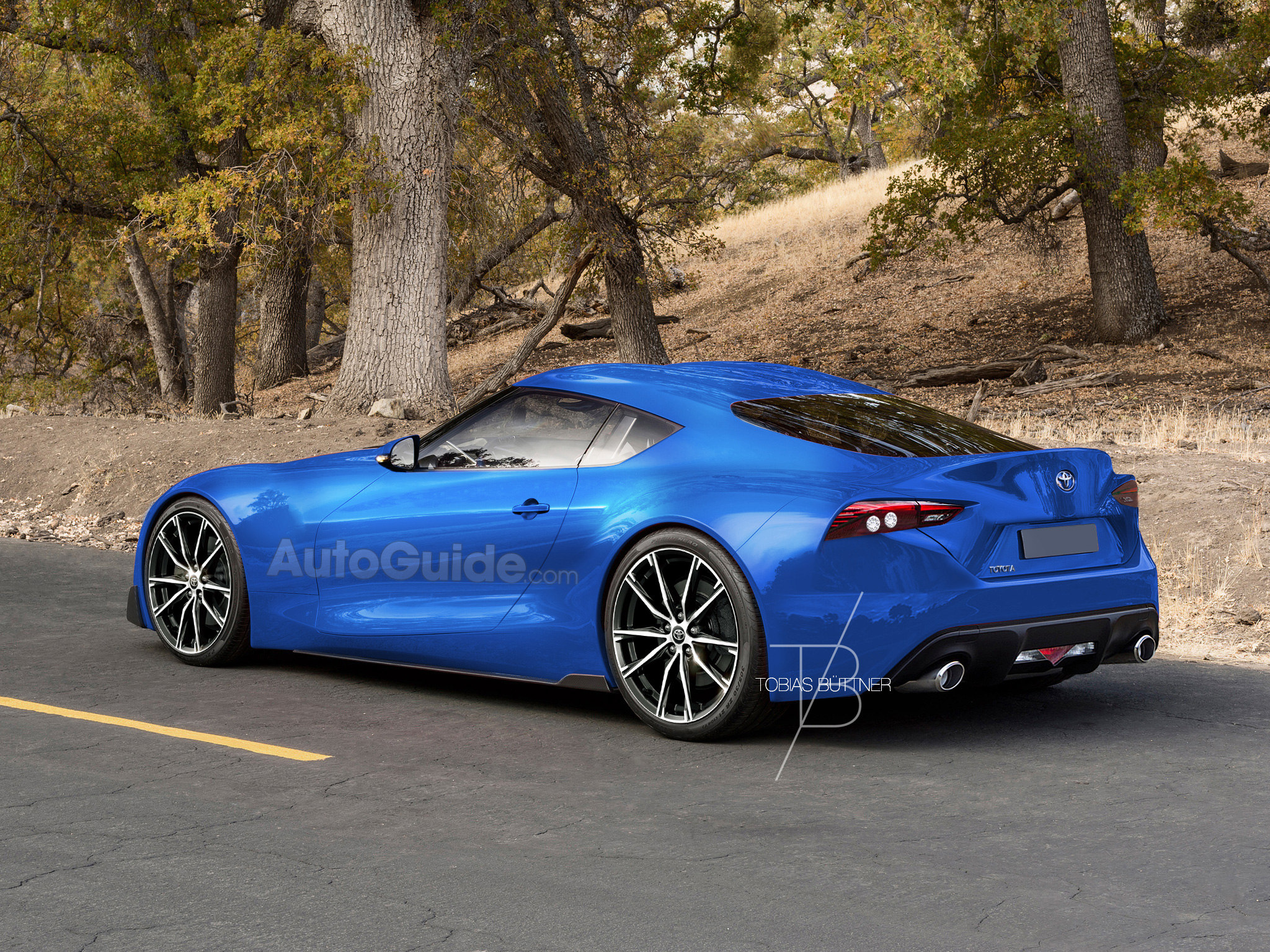 This is What the New Toyota Supra Could Look Like  AutoGuidecom News