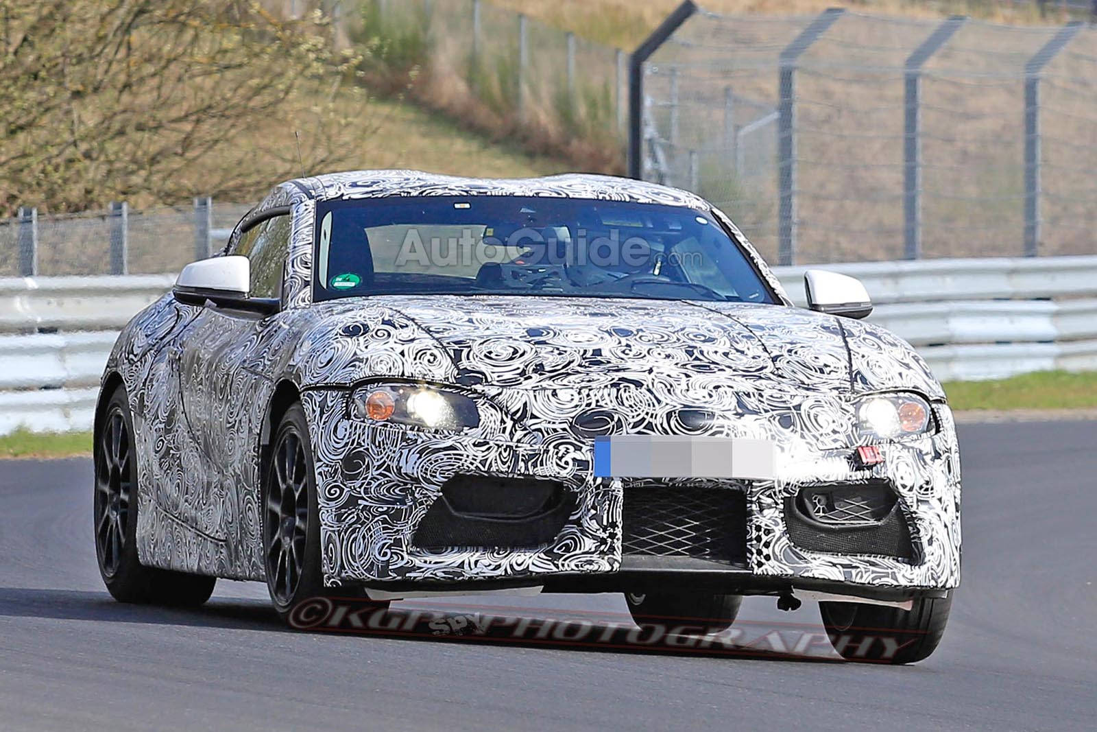 Toyota Supra Leaves Its Bmw Showing In New Spy Shots 187 Autoguide Com News