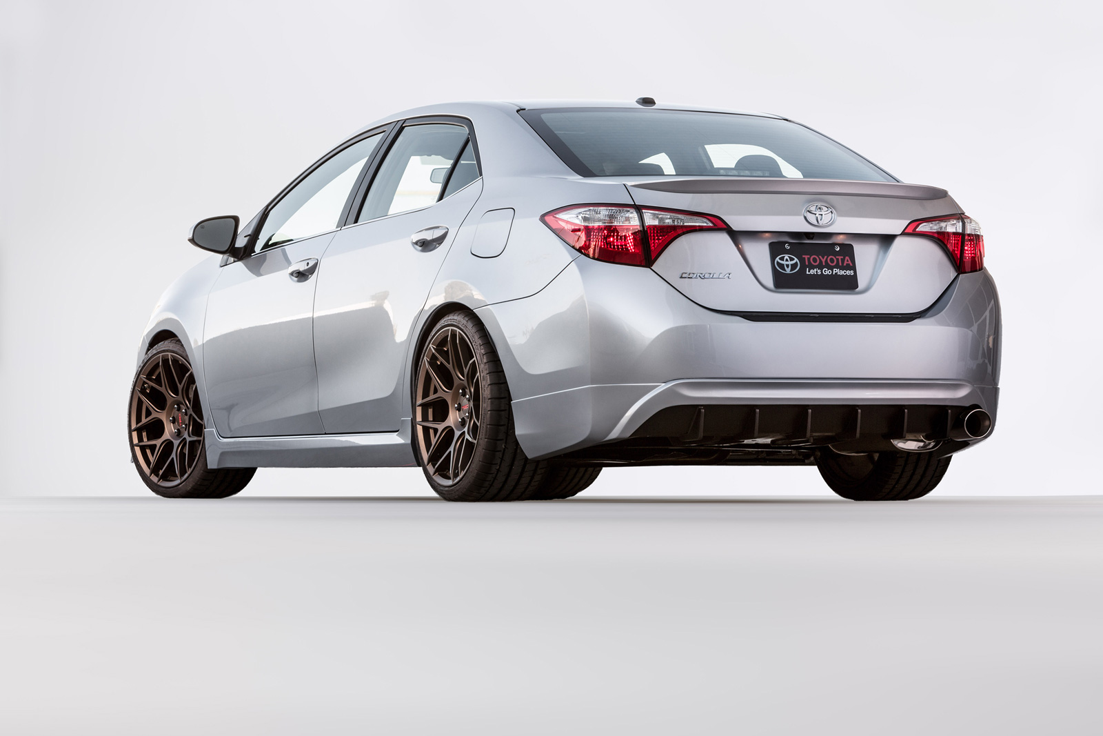 toyota corolla 2015 by toyota showcases trd possibilities at 2015 sema show