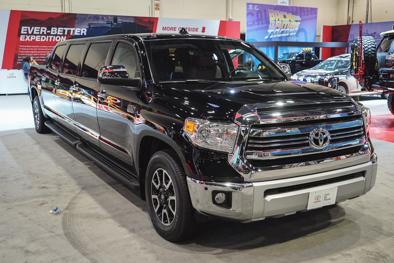 Toyota Tundrasine Combined Truck Utility With Limo Luxury