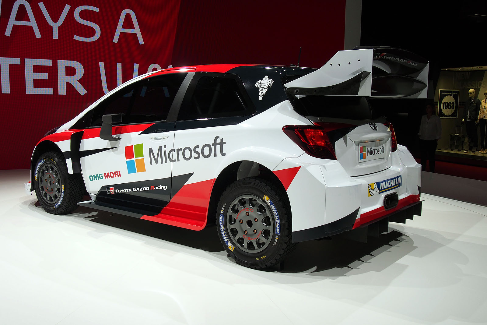 Toyota Partners with Microsoft to Take Yaris WRC Car to Victory ...