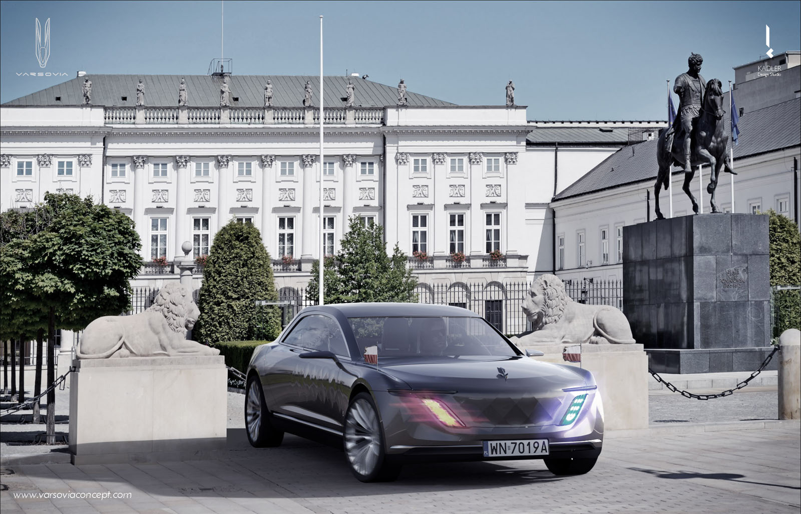 hyper-futiristic polish varsovia concept car could be produced