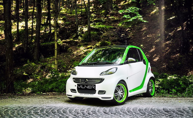 Tuned Smart Fortwo Stuffs Lots Of Luxury Into A Tiny