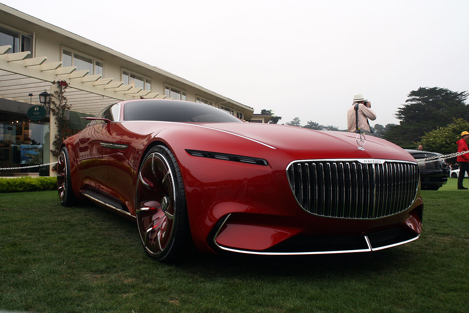 Vision Mercedes-Maybach 6 Concept Unveiled at Pebble Beach