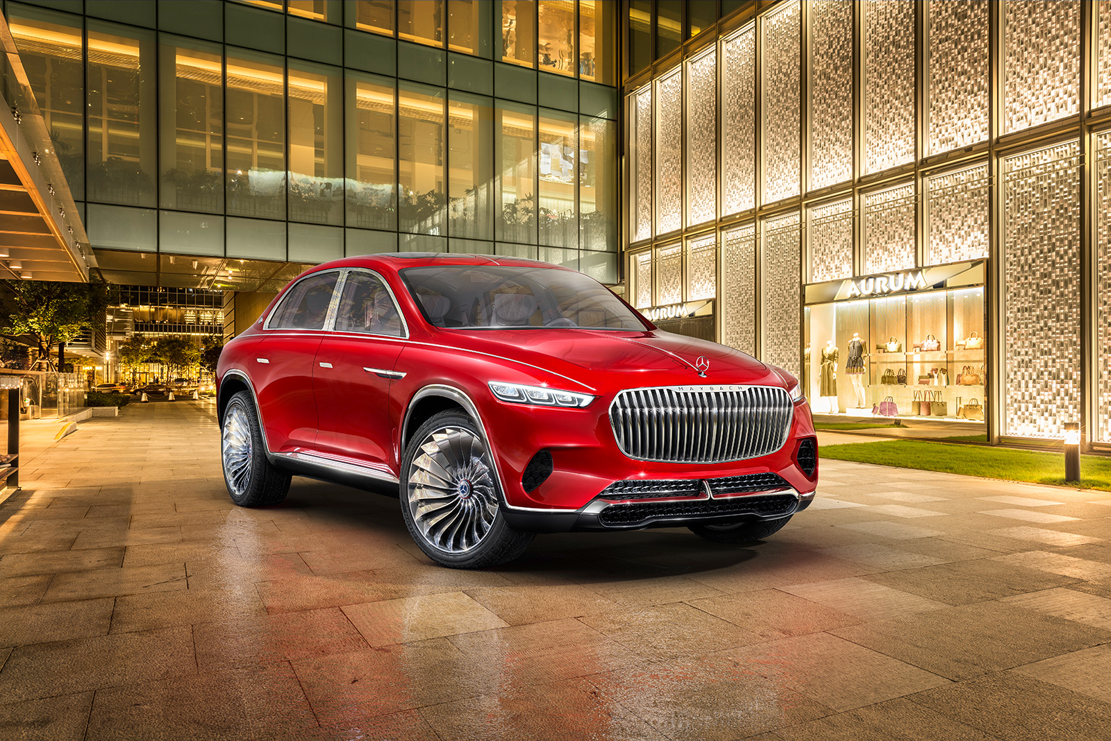 Mercedes Maybach S Suv Concept Is A Lifted S Class Sedan Autoguide Com News