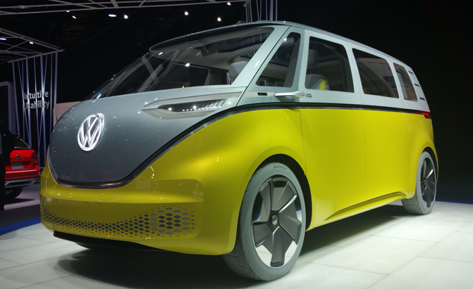 volkswagen id buzz concept the microbus of the future. Black Bedroom Furniture Sets. Home Design Ideas