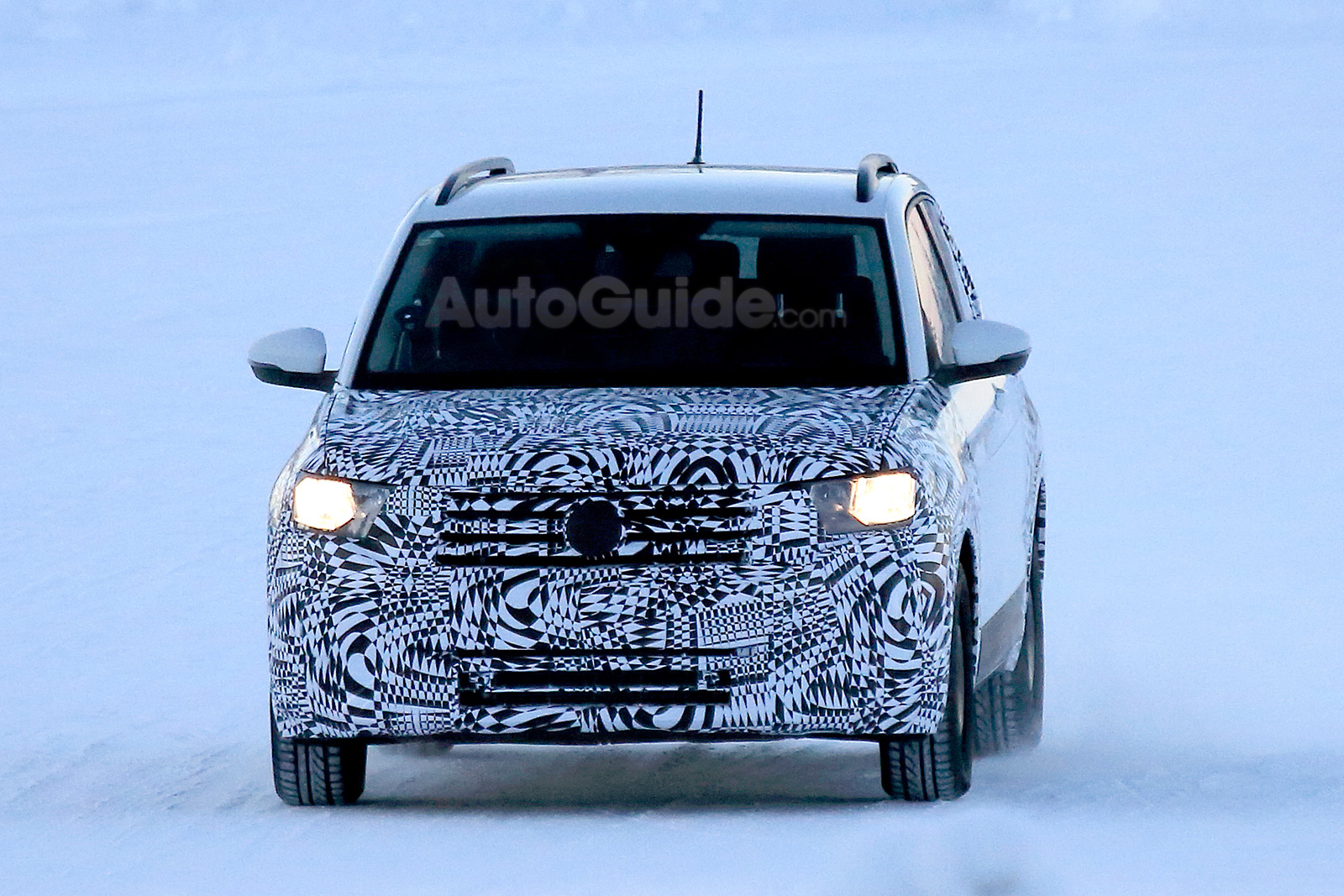 Vw Quote Spied Your Best Look Yet At The Volkswagen Tcross  Vw Forum