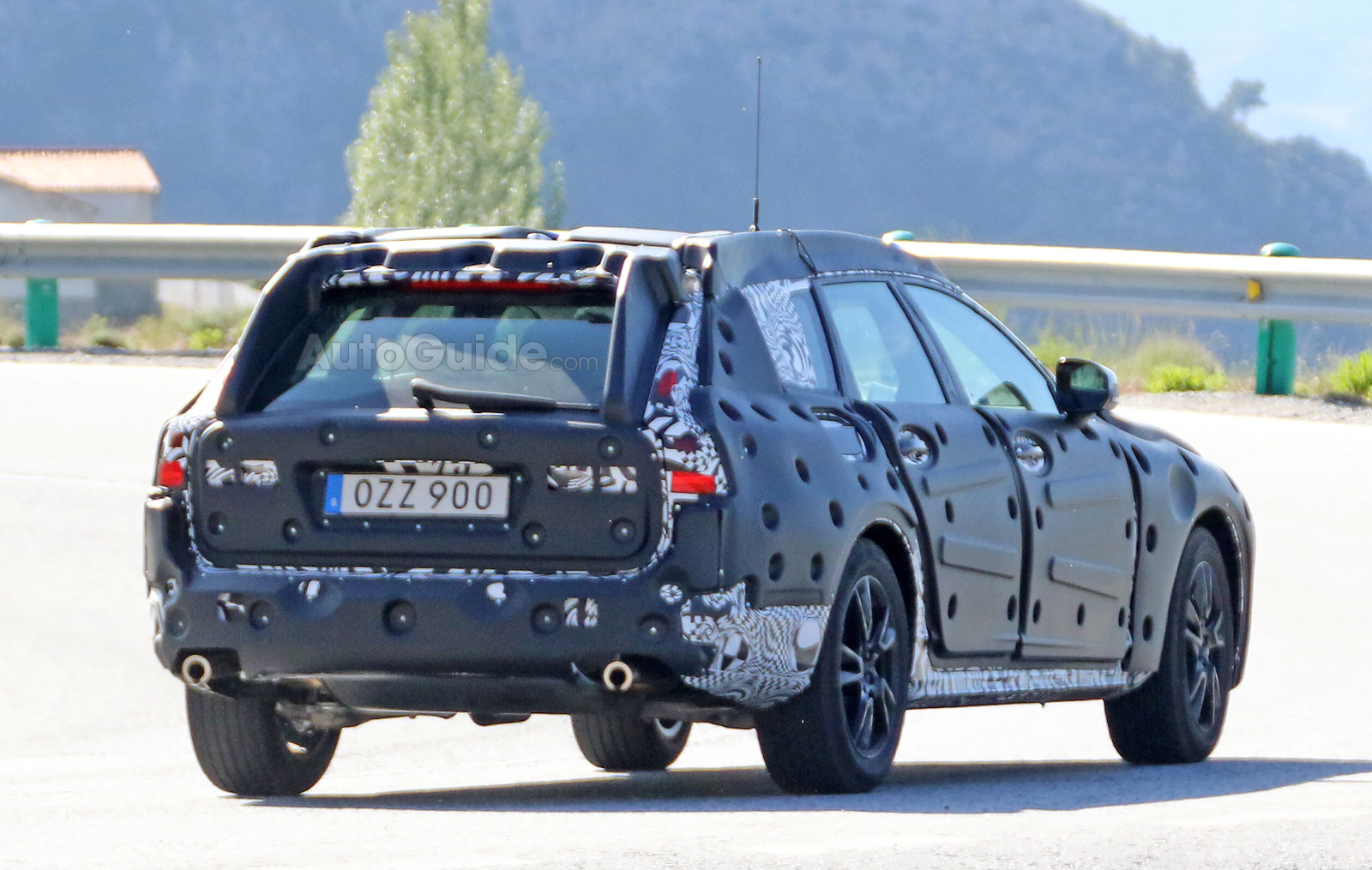 Volvo V90 Cross Country Spied Testing In Southern Europe Autoguide The 2018 Is New Spy Photos 10