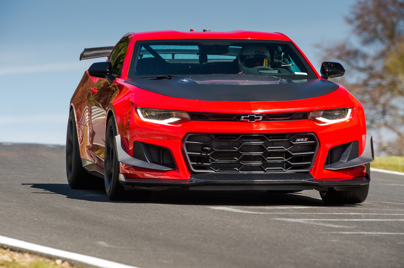 the 2018 chevrolet camaro zl1 1le is the fastest camaro to