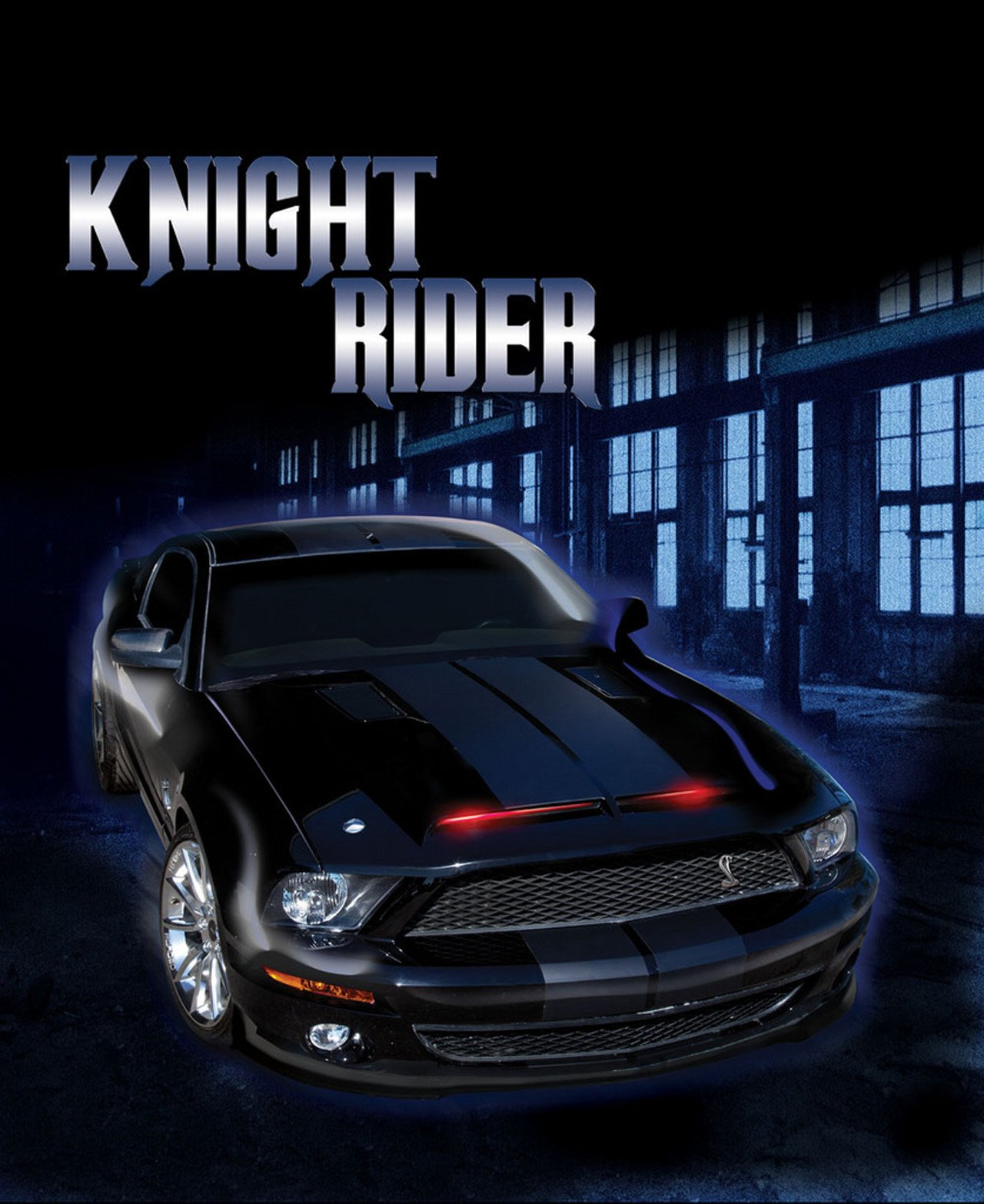 Knight Rider Ford Mustang K I T T  Car Heading to the Auction Block