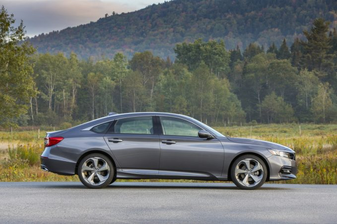 2020 Honda Accord Touring 2.0T in dark gray