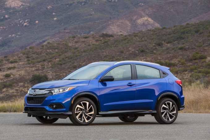 2020 Honda HR-V Sport in blue