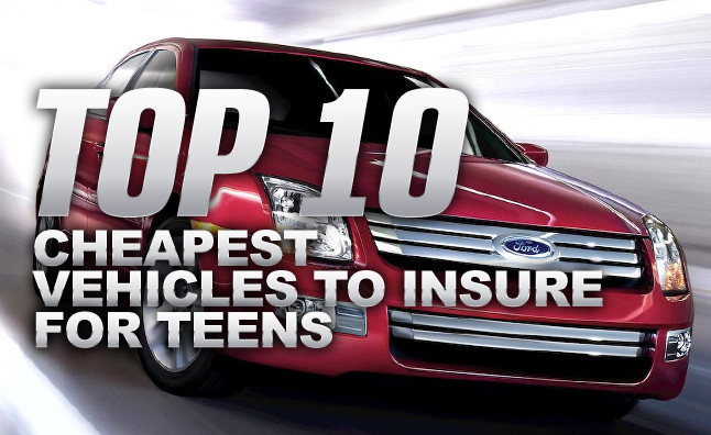 Cheap Car Insurance For Teens >> Top 10 Cheapest Vehicles To Insure For Teens Autoguide Com