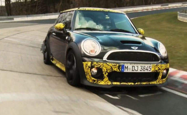 Setting An Official Time At The Nürburgring Is A Standard Test For Any Car That Would Like To Be Considered Sports And Mini Just Released Video Of