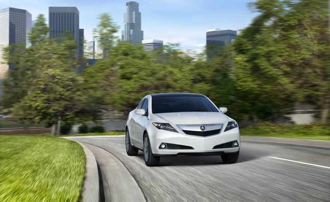Acura ZDX Disliked And Discontinued AutoGuidecom News - Acura crossover zdx