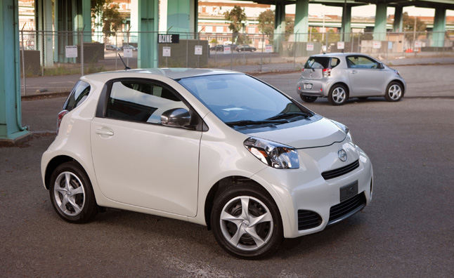 Scion Has Announced A Bargain 99 Per Month Lease Rate For Its Iq Mini Car Hoping To Boost Deliveries As Compeion In The Segment Grows With Chevrolet S