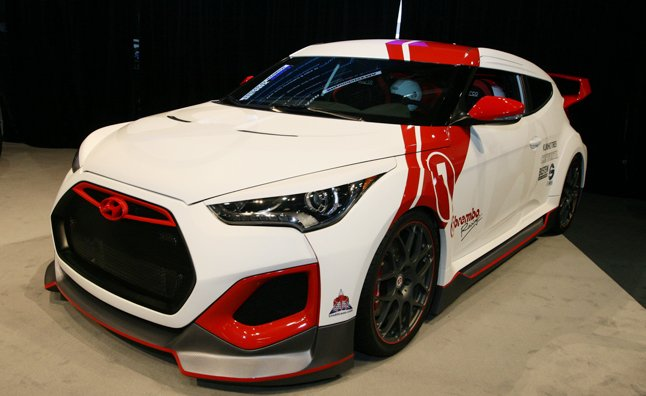 hyundai velocity veloster is a skunk works project with cosworth