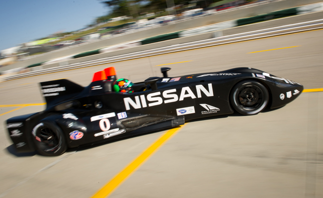 Nissan's radical DeltaWing racecar