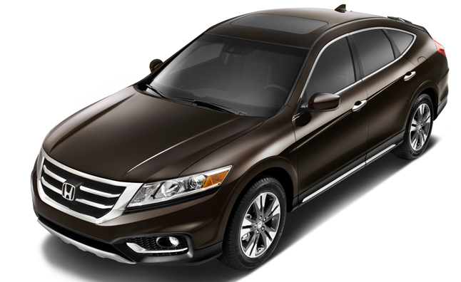 The 2013 Honda Crosstour, Based On The Recently Tested Honda Accord, Has  Been Revealed Today By The Company, Sporting A New V6 Engine From Hondau0027s  Earth ...