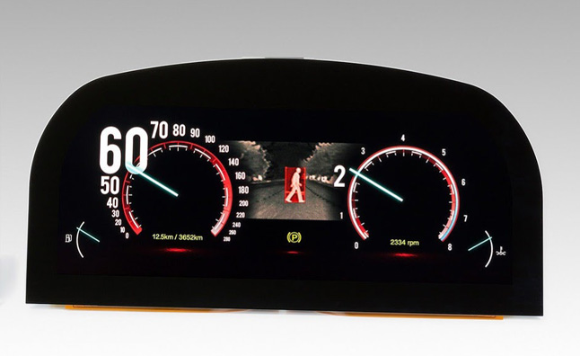 Japan Display Debuts High-Res LCD Instrument Cluster - Video