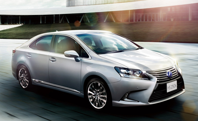Lexus Unceremoniously Dismissed Its Hs 250h Hybrid From The U S Market Early Last Year But Car Is Still For In An