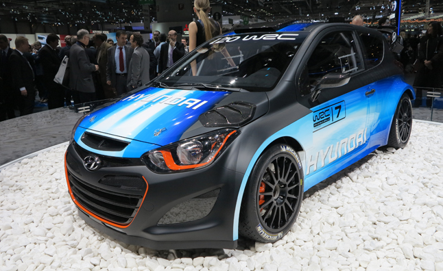 As Hyundai Gets Ready To Take On The 2014 FIA World Rally Championship With Its I20 WRC Korean Automaker Is Showing Off An Upgraded Version Of Race