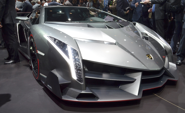 Lamborghini Veneno Official Details: 750-HP, $4 Million Price Tag ...