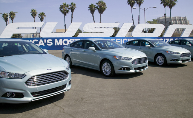 2014 Ford Fusion 3-cylinder
