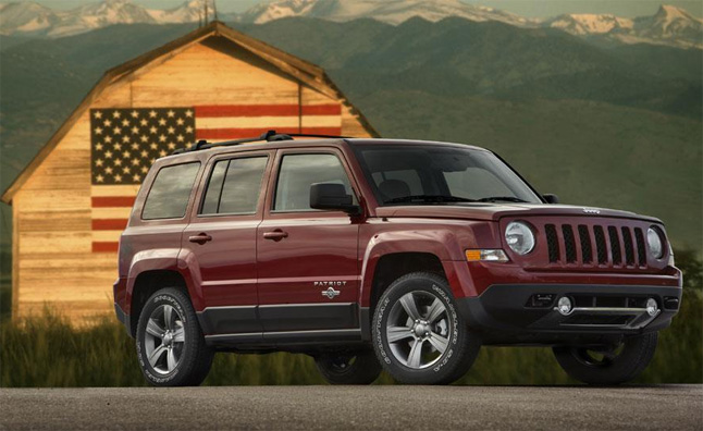 High Quality Just In Time For Memorial Day, Jeep Has Reintroduced A Special 2014 Model  Year Patriot Freedom Edition.