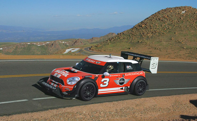 There Will Be A Mini In The Pikes Peak International Hill Climb With French Driver Jean Philippe Dayraut Behind Wheel