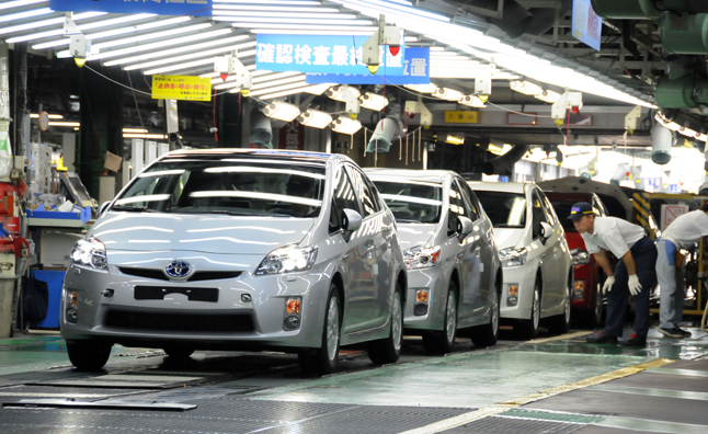 Toyota Increasing Common Components Across Models