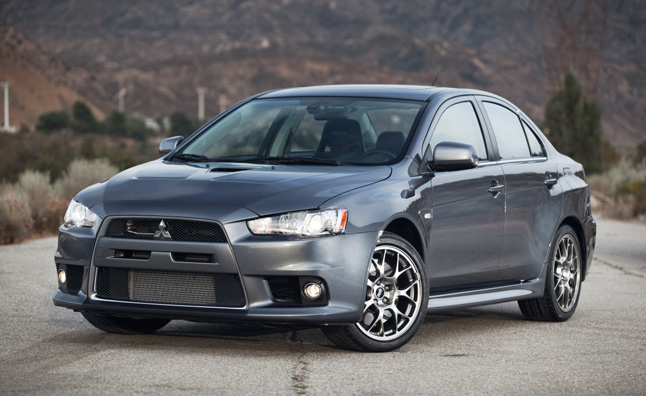 Five Point Inspection: 2013 Mitsubishi Lancer Evolution