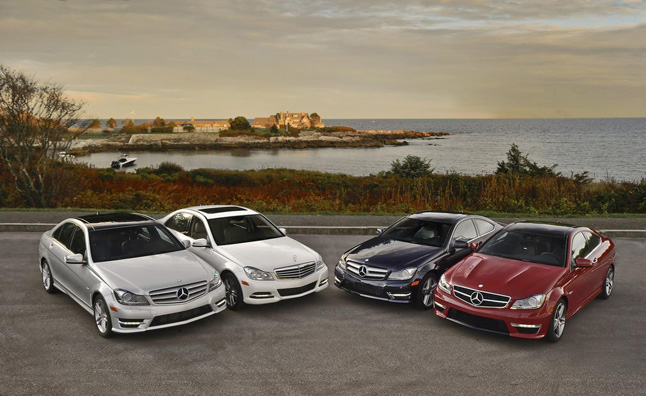 Mercedes C Class Tops Most Stolen Luxury Vehicle List Autoguide