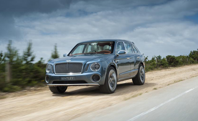 bentley suv 2017