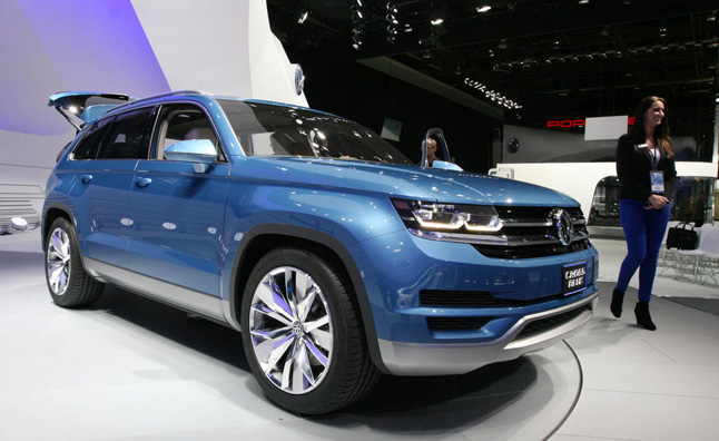 Volkswagen Is Still Committed To Bringing A Mid Size Suv The North American Market In An Effort Introduce New High Volume Vehicle Brand