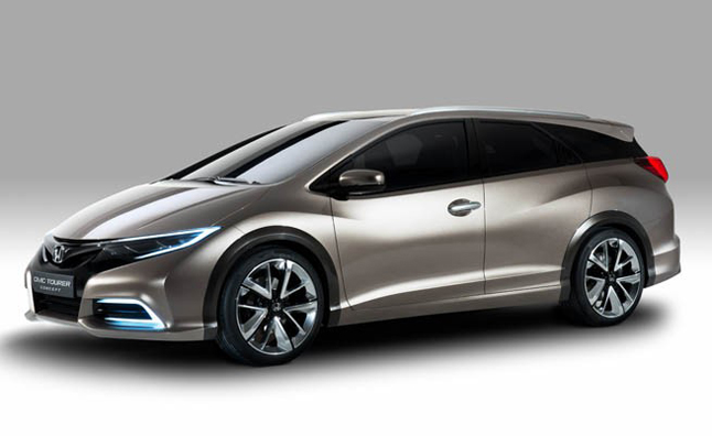 Exceptional 2014 Honda Civic Tourer, Hatchback To Debut In Frankfurt » AutoGuide.com  News