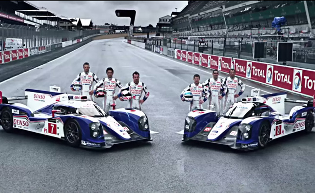 toyota 24 hours of le mans