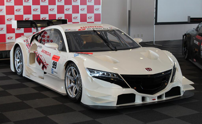 2014 Honda NSX Super GT Race Car Revealed » AutoGuide.com News