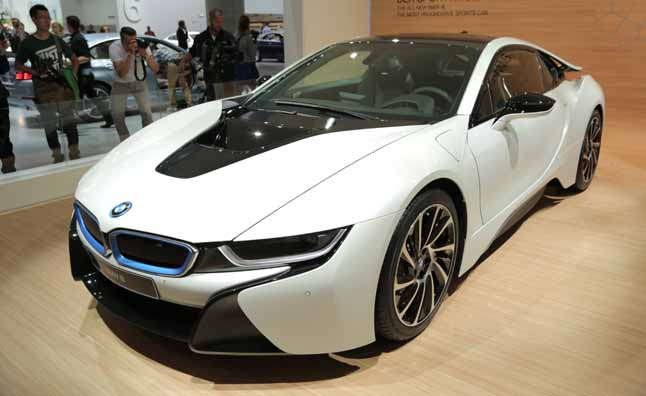 Promising A U201cnew Era Of Sustainable Performanceu201d BMW Has Revealed Its Long  Awaited I8 Plug In Hybrid Sports Car Today At The Frankfurt Motor Show.