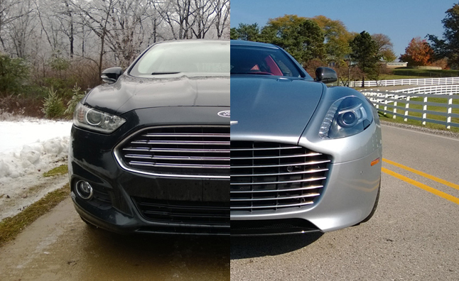 Aston Martin Vs Ford Mondeo >> Five Ways The Ford Fusion Is Better Than The Aston Martin Rapide S