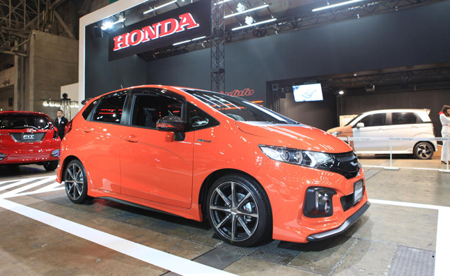 The Redesigned Honda Fit Hasn't Made It To North America Yet But It's Already Catching Attention From Tuners In Japan: Honda Fit Custom Exhaust At Woreks.co