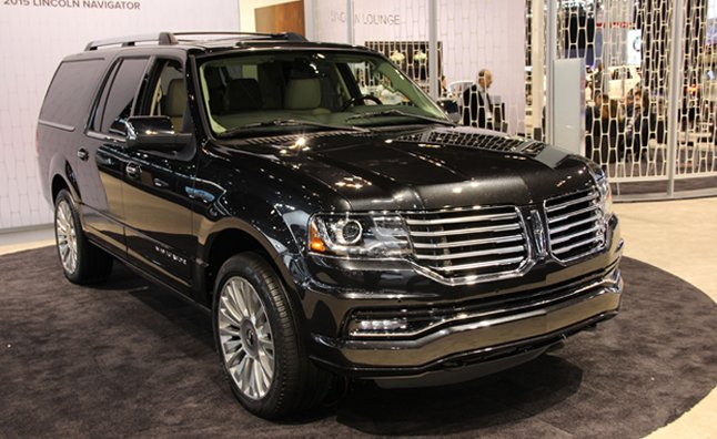 2015 Lincoln Navigator Video First Look Autoguide Com News
