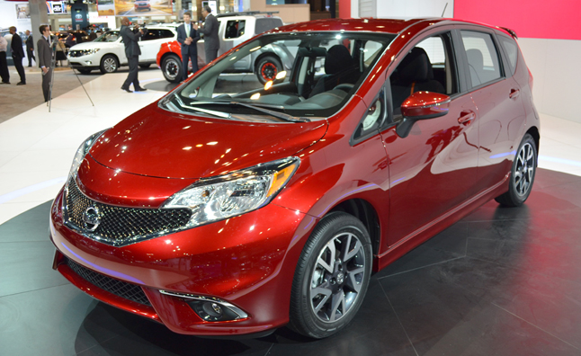 2015 Nissan Versa Note Gets Meaner Look At 2014 Chicago Auto Show