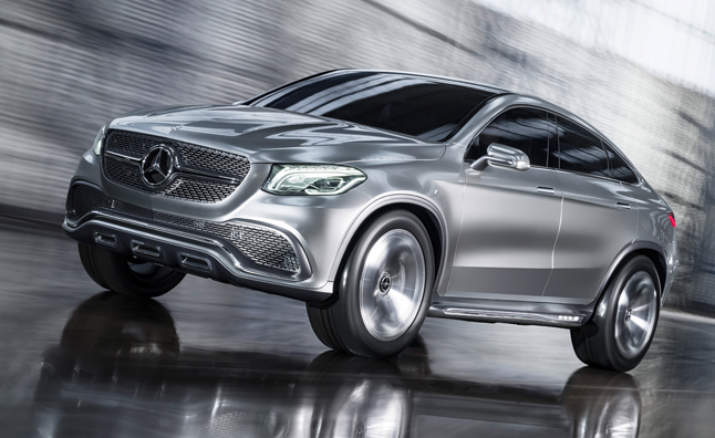 Mercedes Concept Coupe Suv Takes Notes From Bmw Autoguide Com News