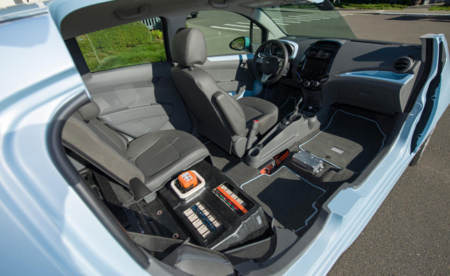Chevrolet Spark Ev Saves Weight With Smaller Battery Autoguide